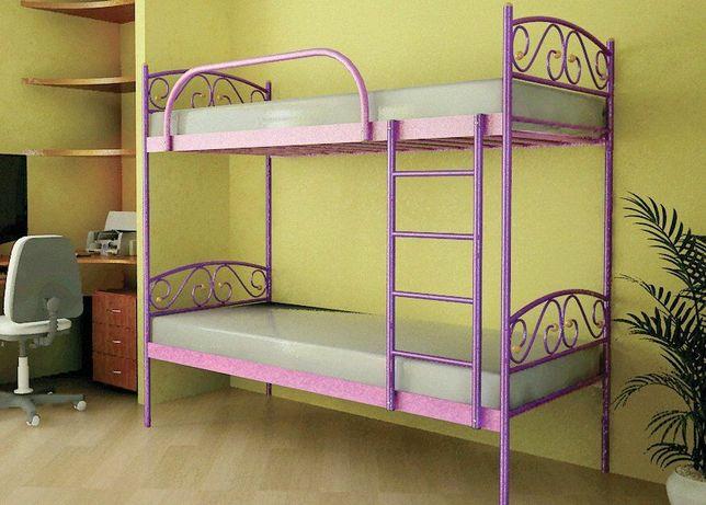 Кровать Верона 0.8х1.9 двухьярусная