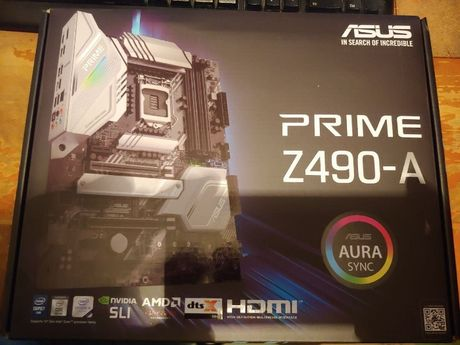 НОВАЯ ! Гарантия! ASUS PRIME Z490-A s1200 Intel Core i5 i7 i9