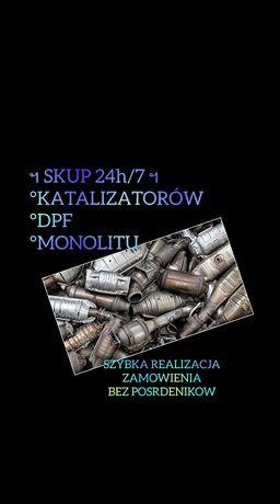 °Skup Katalizatorów DPF Monolitu , Akumulatorów 24h/7° Bez Pośredników