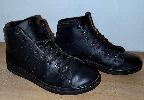 ADIDAS STAN SMITH buty sportowe SKÓRA Czarne Stan IDEALNY 38
