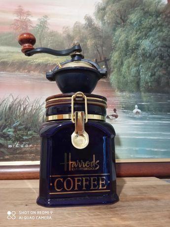 Англия фарфоровая кофемолка