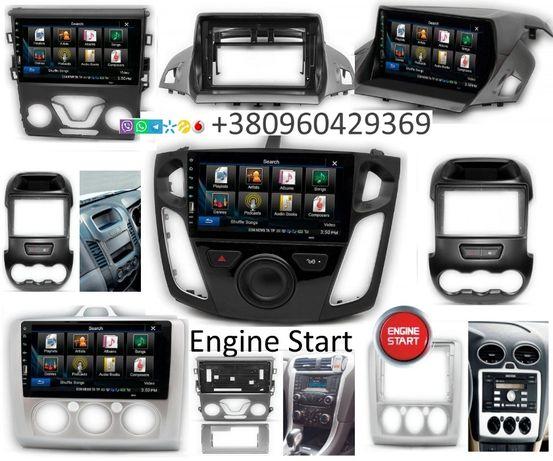 Магнитола Android Ford Focus Fiesta Kuga C-Max Fusion Transit Mondeo