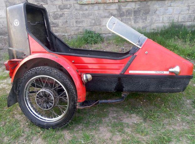 Боковой прицеп коляска jawa ява 638 велорекс velorex 700