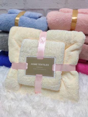Набор полотенец микрофибра полотенце подарок