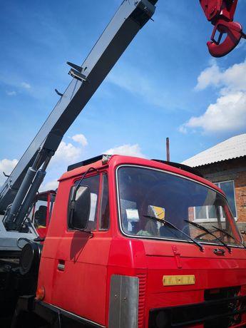 Автокран АД-20 на базі автомобіля Татра