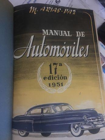 MANUAL DE AUTOMOVILES de M. Arias-Paz.