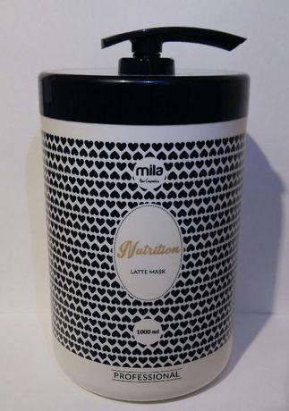 Mila pro Maska Latte odżywiająca MLECZNA + POMPKA