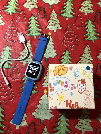 GPS часы детские