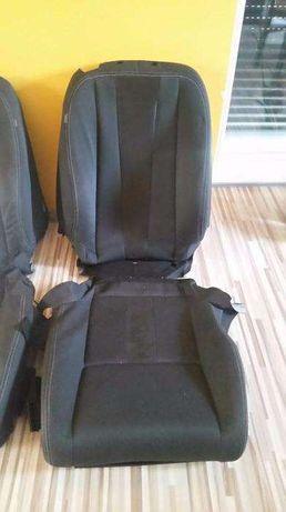 siedzenie / tapicerka przód, pasażer renault megane III cupe