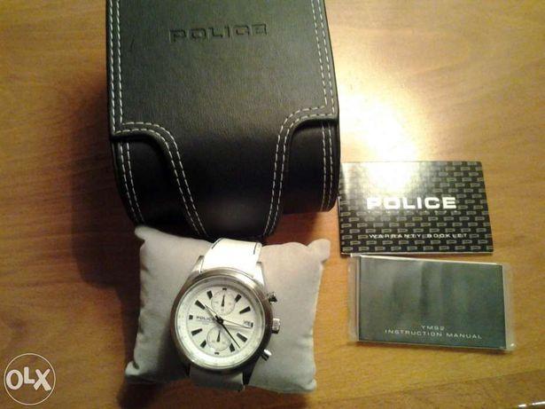 Relógio POLICE com cx e certificado
