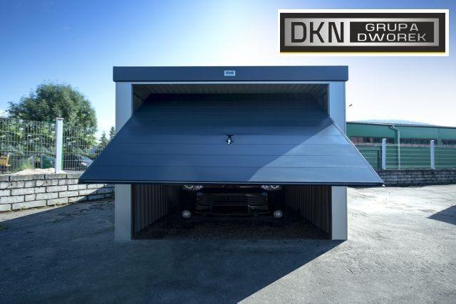 garaże stalowe GS premium tynkowane promocja wiosna 2020