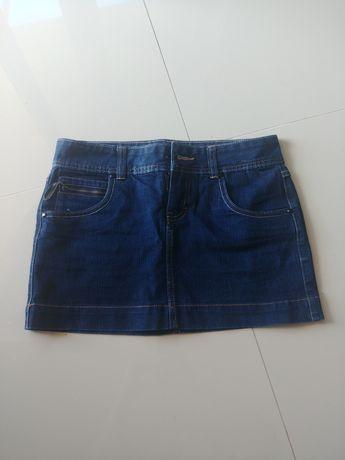 Spódniczka jeansowa veromoda rozmiar 36 38 S M