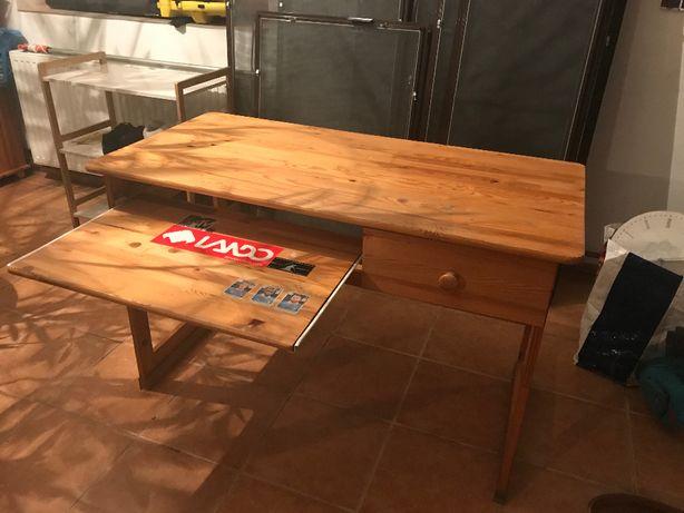 sprzedam biurko drewniane
