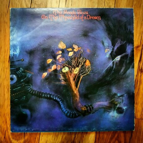 "виниловая пластина альбом The Moody Blues ""On The Threshold of a Dream"