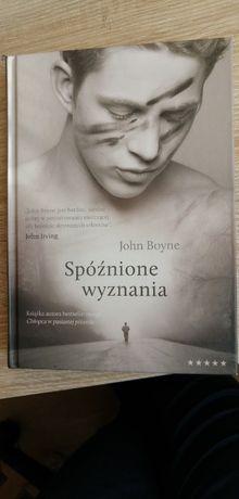 Spóźnione wyznania John Boyne NOWA