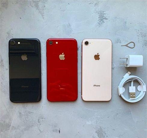 iPhone 8 64/ 256 Gb ‼️По акции‼️ Red Gold Space Gray Silver Оригинал