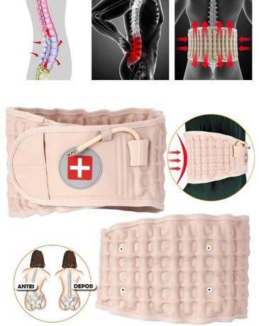 cinta insuflavel para coluna vertebral medula espinhal ciatica hernias