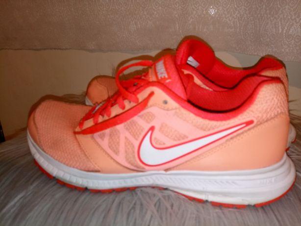 Nike downshifter 6 neon pomarańczowe 40.5