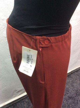 Spodnie ciążowe rozmiar M nowe Ma-ma kolor cegła