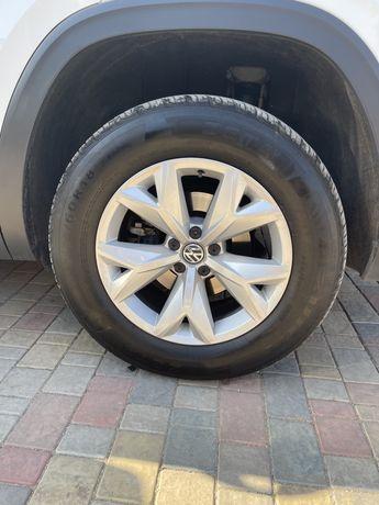 Продам диски с резиной r18 VW ATLAS