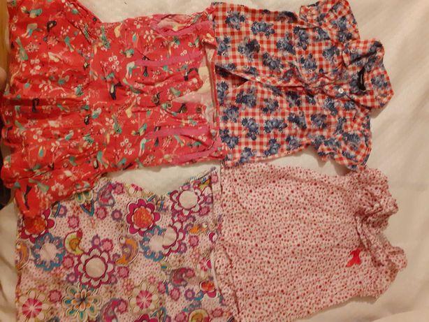Bluzeczki w rozmiarze od 80 do 98 dla dziewczynki Geoege Kanz name it
