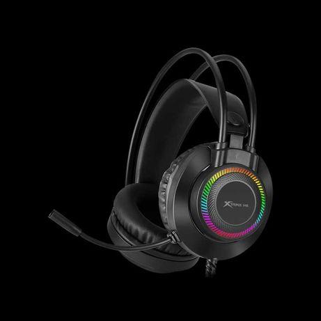Игровые наушники XTRIKE ME GH-509 с микрофоном Black