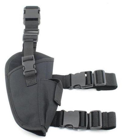 Kabura udowa regulowana pokrowiec na broń pistolet holster wojskowa