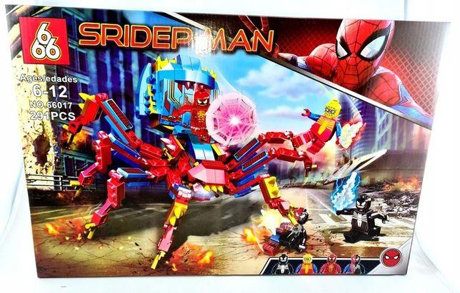 Super klocki Spiderman 291 klocków jak lego