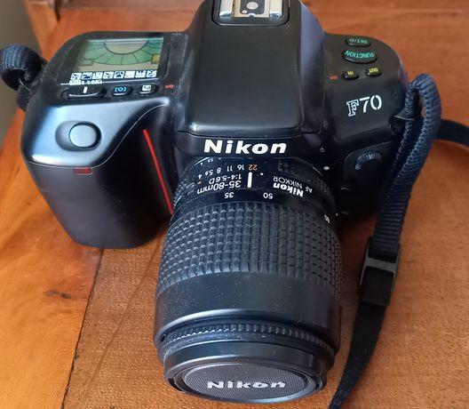 Nikon F70 (corpo + objetiva)