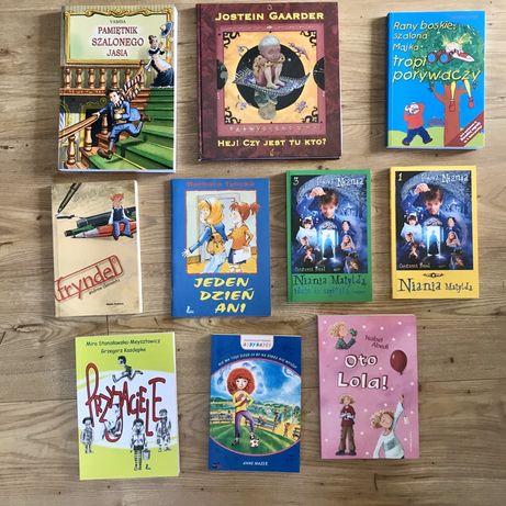 Książki dla dzieci, bajki, opowiadania - 10 sztuk - nowe