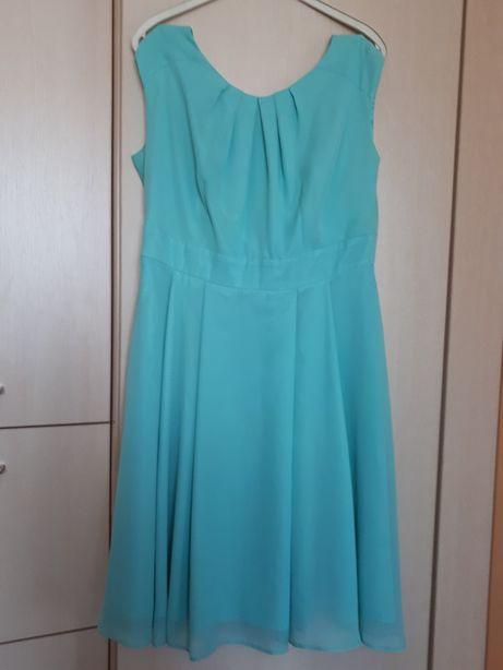 Sukienka przerobiona na ciążową