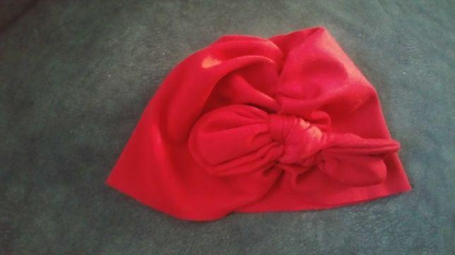 Turban czapka obwód 40cm