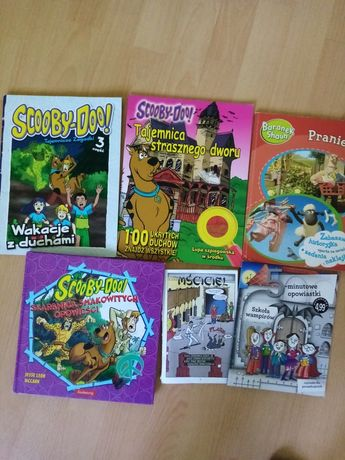 Zestaw książek Scooby-Doo