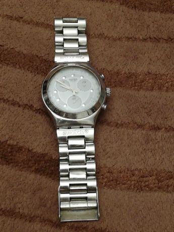 Sprzedam męski zegarek chronograph Swatch Irony 1995r bransoleta