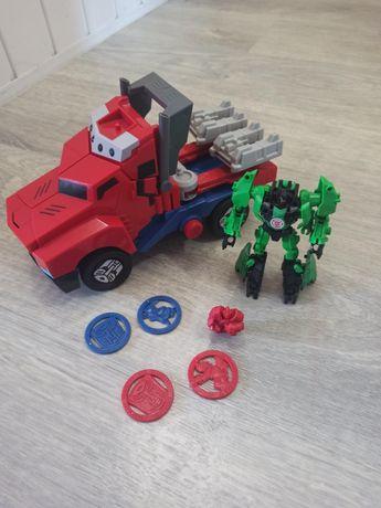 Transformers Optimus Prime Grimlock