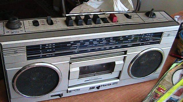 Radio magnetofon Hania RMS 401 z PRL