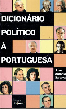 6933 Dicionário Político à Portuguesa por José António Saraiva