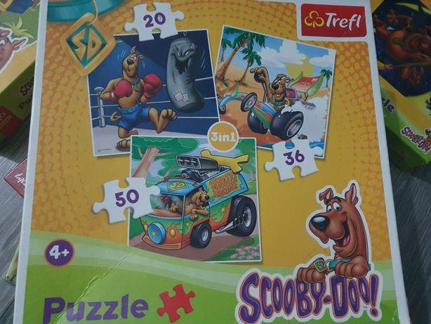 Puzzle Scooby-Doo 3w1