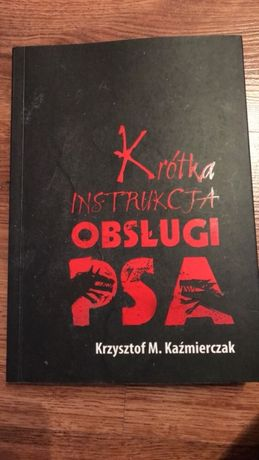"Książka "" krótka instrukcja obsługi psa"""
