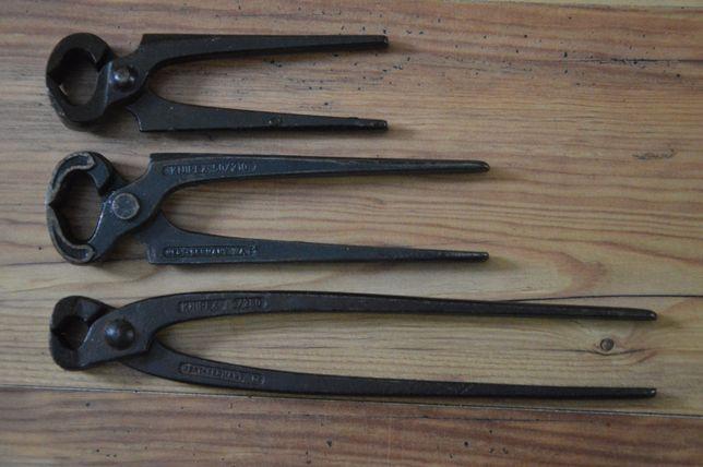 Stare szczypce cęgi Knipex Germany zestaw