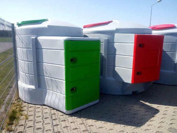 Dwupłaszczowy zbiornik do paliwa 2500, 5000 Litrów , nowy
