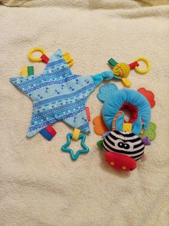 Развивающие игрушки, на руку, прорезыаатели