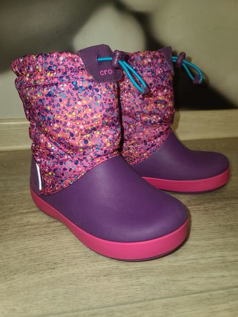 Детские зимние ботинки Crocs