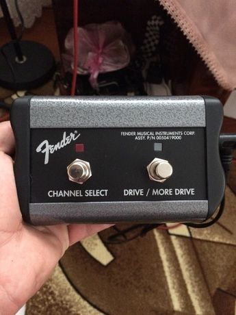 Footswitch - Fender, Two Button (Channel, Drive)