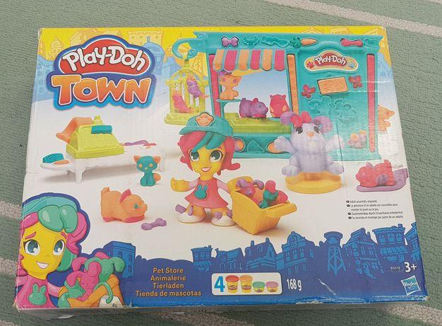 Zestaw Ciastolina Play-doh Town Pet Store