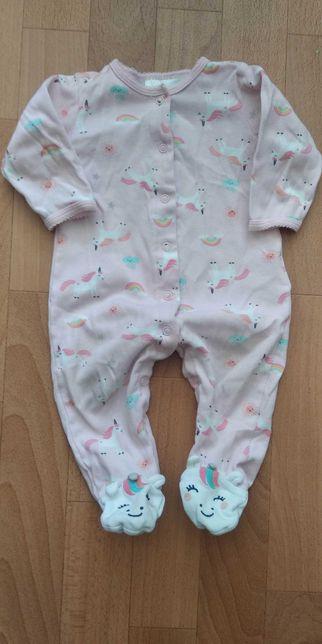 Пижамка человечек для девочки Carter's 6m