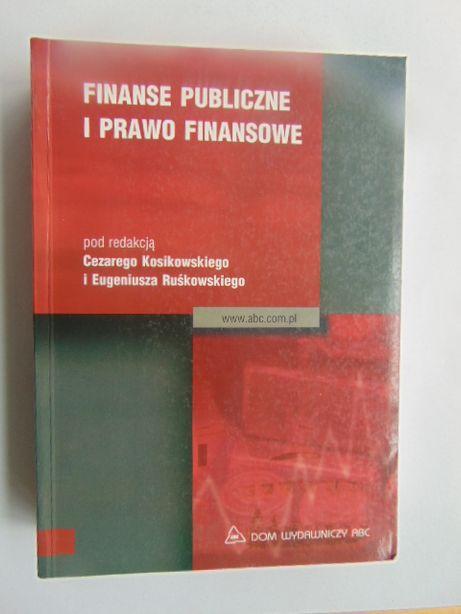 Finanse publiczne i prawo finansowe C. Kosikowski
