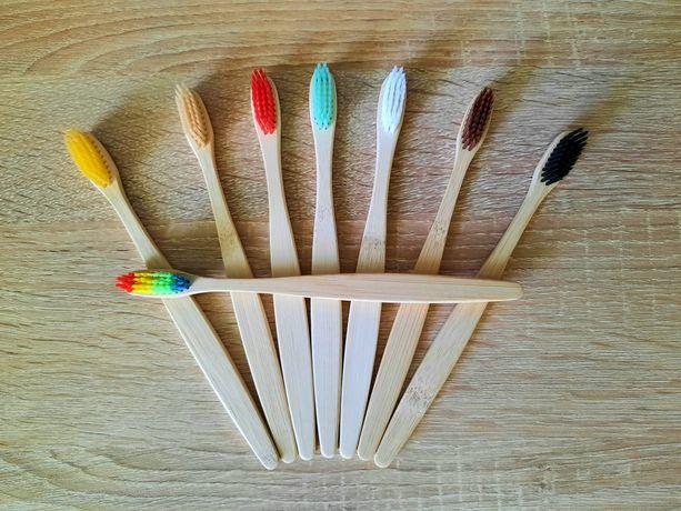 Бамбукові зубні щітки