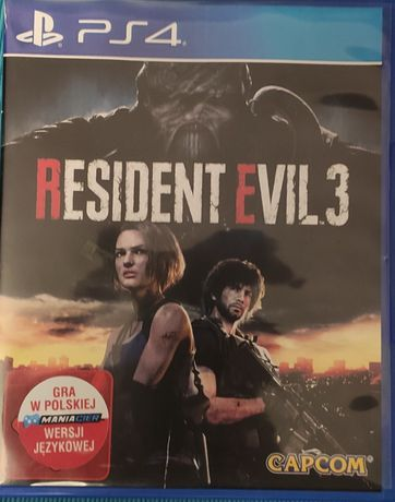 Resident Evil 3 Remake PL PS4