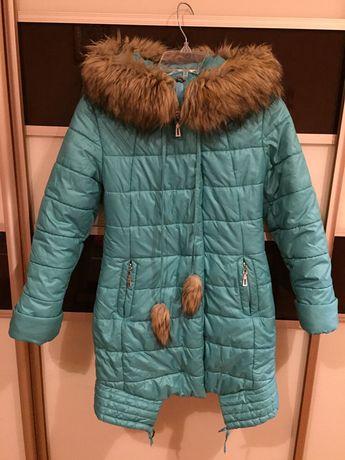 Зимова куртка пальто пуховик для дівчинки Nui Very